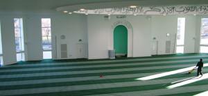 Moschee, Schließung, Gebetsräume