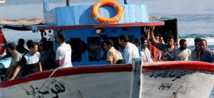Lampedusa Flüchtlinge 2007