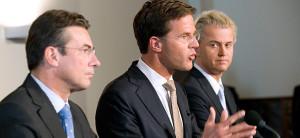 Rutte, Verhagen, Wilders
