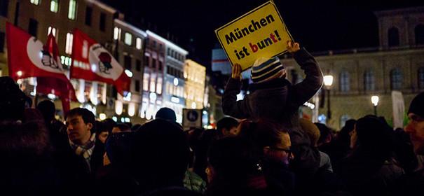 """""""München ist bunt"""""""