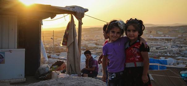 Syrische Flüchtlingskinder © European Commission DG ECHO