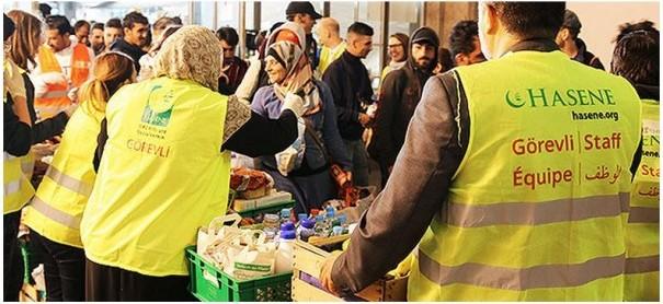 Flüchtlingshilfe Hasene München