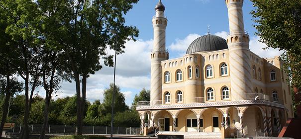 Eine der Moscheen in Hamburg. Die Centrum-Moschee in Hamburg/Rendsburg © IGMG