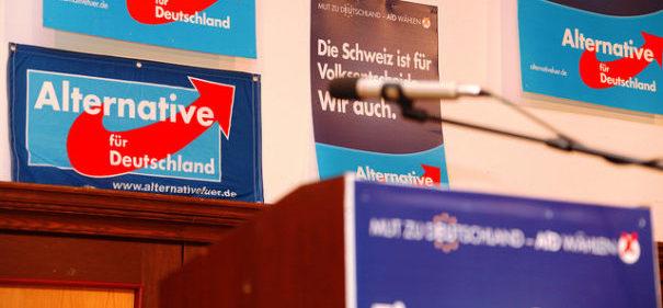Die AfD-Landtagsfraktion in Thüringen startet die nächste islamfeindliche Aktion. © flickr.de/metropolico.org/ CC 2.0, bearbeitet by IslamiQ.