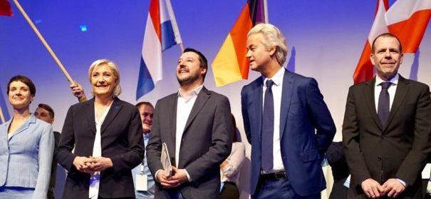 Rechtspopulisten © Facebook, bearbeitet by iQ.