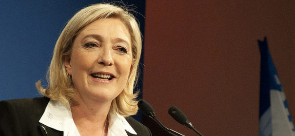 Die Parteivorsitzende der Front National: Marine Le Pen- © flickr / CC 2.0 / Global Panorama