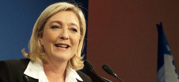 Die Parteivorsitzende der Front National: Marine Le Pen- © flickr / CC 2.0 / Global Panorama