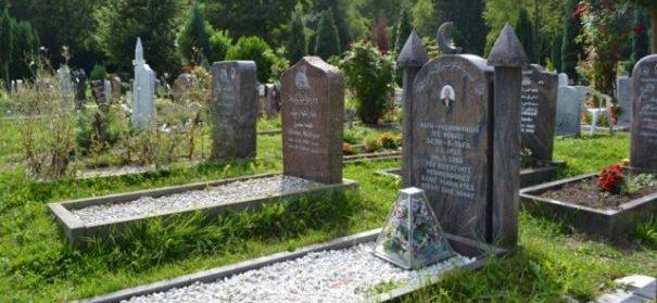 Symbolbild: Islamischer Friedhof, muslimische Bestattungen