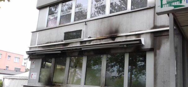Brandanschlag auf DITIB-Moschee Weil am Rhein. @ DITIB