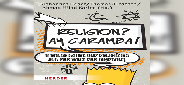 """Religion? Ay Caramba"" - Simpsons"