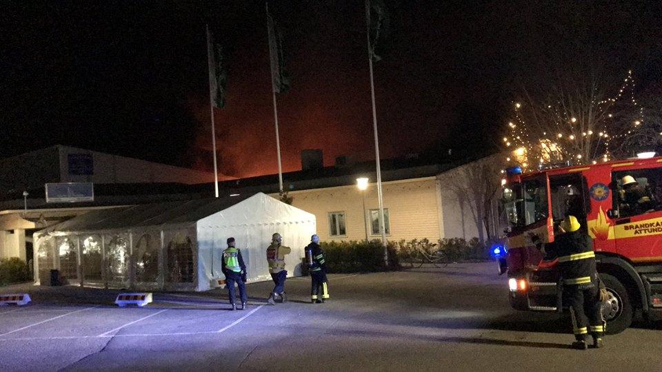 Moschee Brand
