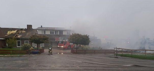 Brandanschlag auf Örebro Moschee © Facebook, bearbeitet by iQ.