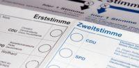 Wahlzettel, Bundestagswahl © by Awaya Legends, bearbeitet islamiQ