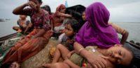 Rohingya-Flüchtlinge auf einem Boot. © amnesty.org