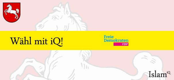 Landtagswahl Niedersachsen - FDP © iQ.