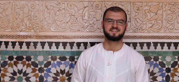 Imam Mohamed Matar auf der Gedenkfeier © Facebook, bearbeitet by iQ.