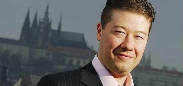 Der Rechtspopulist Tomio Okamura in Prag