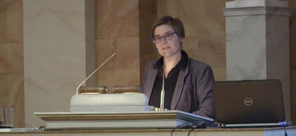 Prof. Dr. Sabine Hees im Gespräch über Integration © youtube screenshot/ Universität Göttingen