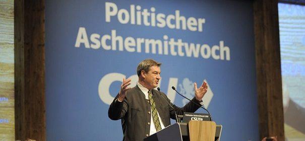 Markus Söder © Facebook, CSU, bearbeitet by iQ.