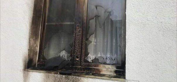 Brandanschlag auf Moschee in Kassel © Facebook, bearbeitet by iQ.