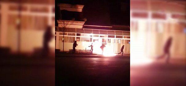 Brandanschlag Lauffen PKK © Facebook