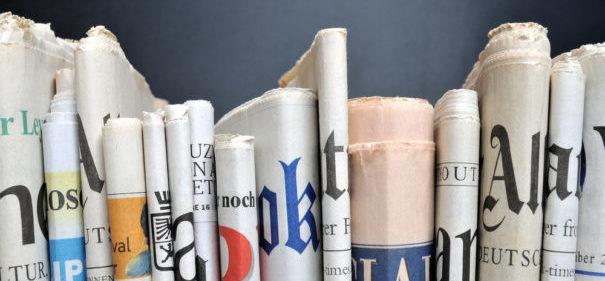 Symbolbild: Printmedien © shutterstock
