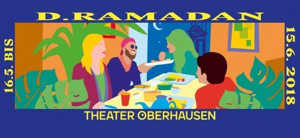 """Screenshot: Theater Oberhausen """"d.ramadan"""" © Theater Oberhausen, bearbeitet by iQ."""