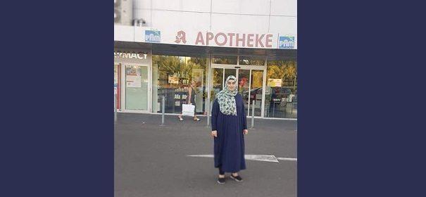 Apotheke Mehtap Özkaya-Başaran erhält Absage wegen Kopftuch © Facebook, bearbeitet by IslamiQ.