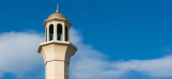 Moschee Minarett