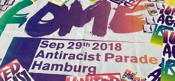 Anti-Rassismus-Demo in Hamburg© Facebook, bearbeitet by iQ.