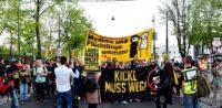 Symbolbild: Proteste gegen Innenminister Kickl (FPÖ)