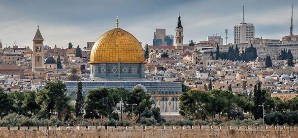 Gebetsrufe in Jerusalem
