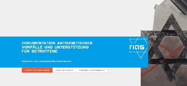 Meldestelle für antisemitische Vorfälle