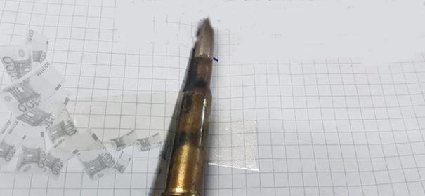 Unbekannte hinterlassen Jagdpatrone in Berliner Moschee