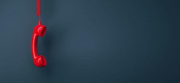 Symbolbild: Telefonseelsorge © shutterstock, bearbeitet by iQ.