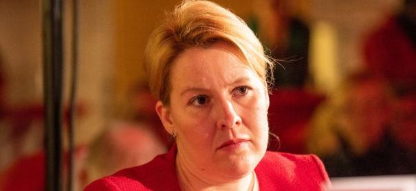 Franziska Giffey (SPD) (c)shutterstock, bearbeitet by iQ