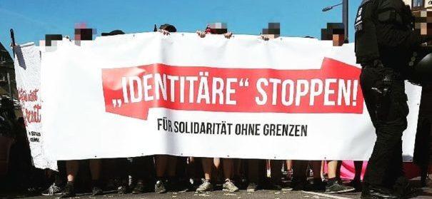 """Halle gegen Rechts"" (c)facebook, bearbeitet by iQ"