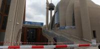 Einsatz in der Kölner Zentralmoschee nach Bombendrohung (c)privat, bearbeitet by iQ