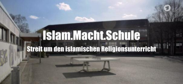 Screenshot aus dem Film Islam.Macht.Schule - Streit um den islamischen Religionsunterricht © ARD Mediathek, bearbeitet by iQ.
