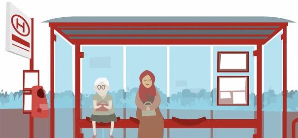 Screenshot: Meldestelle für rassistische Vorfällen © Youtube, bearbeitet by iQ