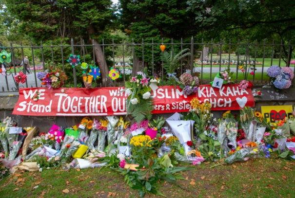 Neuseeland: Mahnmal in Christchurch