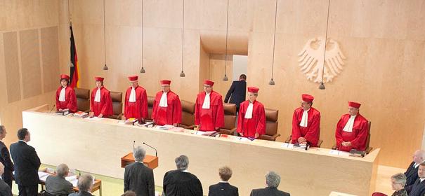 Symbole Bundesverfassungsgericht, Gesichtsschleier