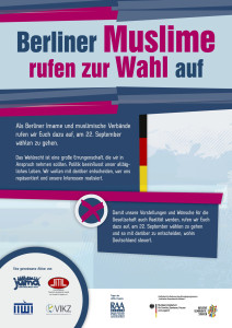 Berliner Muslime rufen zur Wahl auf