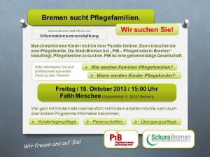 Start der Informationsreihe Schura Bremen