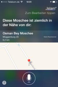 Moschee in der Nähe