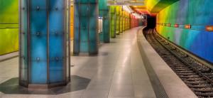 Muslimin, U-Bahn