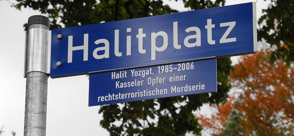 Halitplatz, NSU-Opfer Halit Yozgat