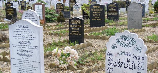 Symbolbild: Ein muslimisches Grabfeld