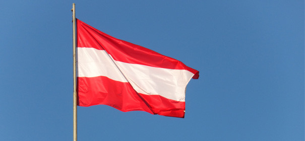 Österreichs Fahne