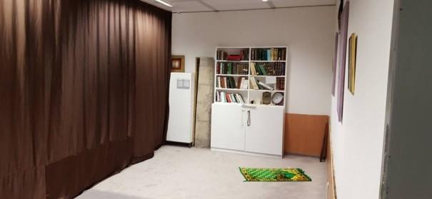 Der eheDer ehemalige Gebetsraum an dem Campus Essen. Jetzt darf im Raum der Stille nicht gebetet werden © RAMSAmalige Gebetsraum an dem Campus Essen. © RAMSA